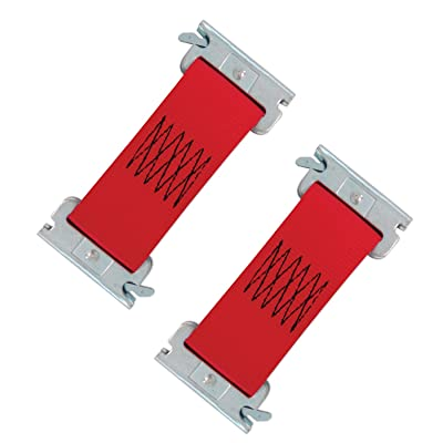 """SNAPLOCS E-Strap 2\"""" x 6\"""" Multi-USE RED 2 Pack Fits Snapocs and E-Track. Connects Snap-Loc Dolly Carts: Home Improvement [5Bkhe2006641]"""
