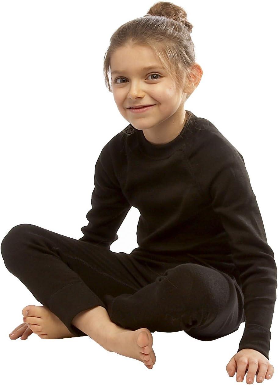 Medium Steiner Sports Childrens Steiner Kids Soft-Tec Long Johns-Grey