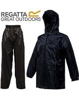 Kids Regatta Stormbreak Waterproof Rainsuit | Taped Seams | Trouser & Jacket