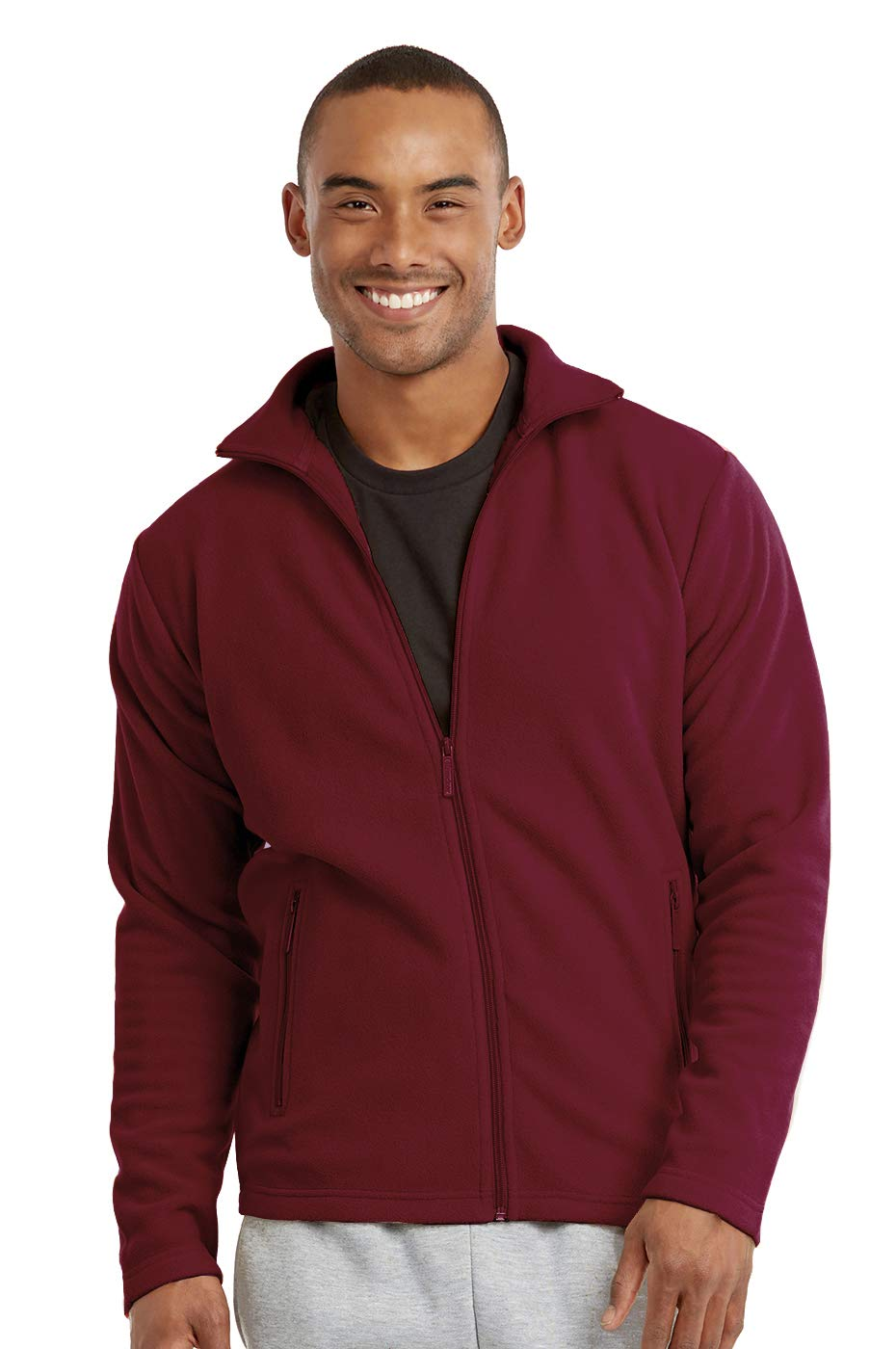 Men's Polar Fleece Zip Up Jacket