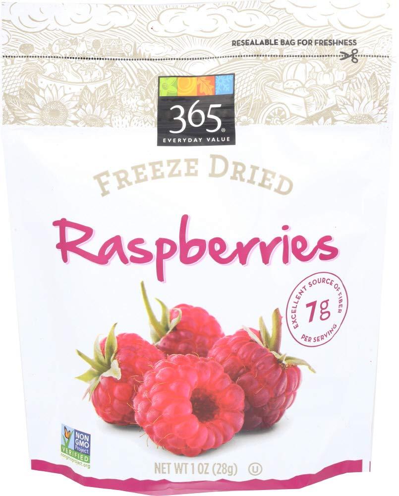 365 Everyday Value, Freeze Dried Raspberries, 1 oz