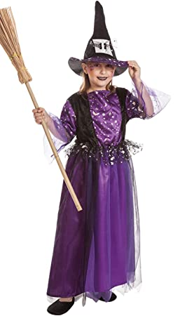 El Rey del Carnaval Disfraz de Bruja Laurie para niña B2-(2/3 años ...