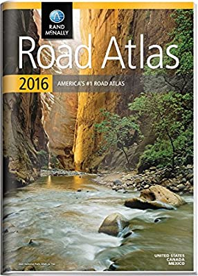 Rand McNally 2016 Gift Road Atlas (Rand Mcnally Road Atlas United States/ Canada/Mexico (Gift Edition))