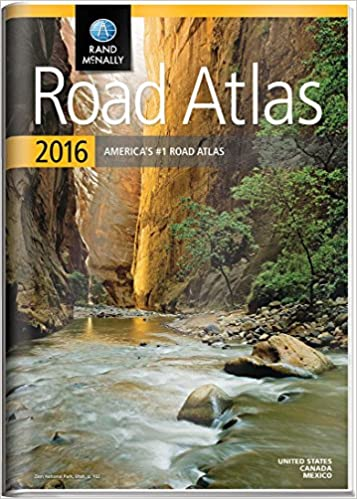Rand McNally 2016 Gift Road Atlas (Rand Mcnally Road Atlas United States/ Canada/Mexico (Gift Edition))