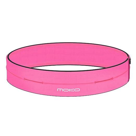 103 opinioni per MoKo Sport Waist packs- Marsupio Sportivo Running con 4 Tasche per iPhone 7 / 7