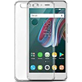 Infinix ZERO 5 X603 TPU Silicone Clear Case Back Cover by Muzz