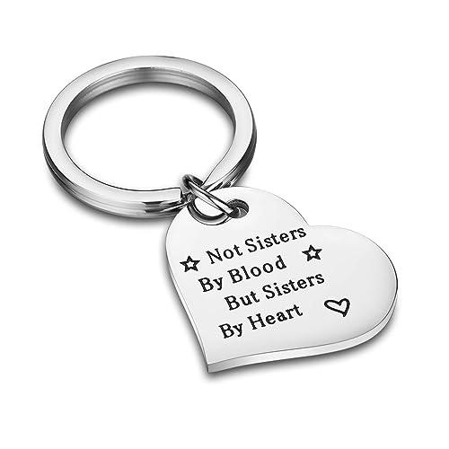 Idee Regali Di Natale Per Donne.Cj M Best Friend Gifts Keychain Perfetto Amicizia Idee Regalo