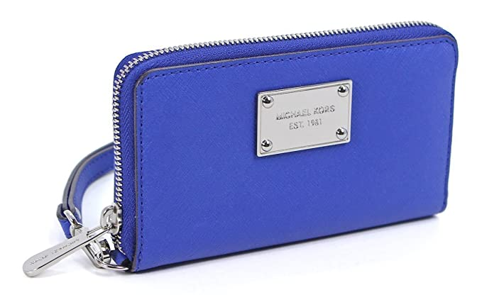 2fa94b73dbaf Image Unavailable. Image not available for. Color: Michael Kors Essential  Zip Wallet for Apple iPhone ...