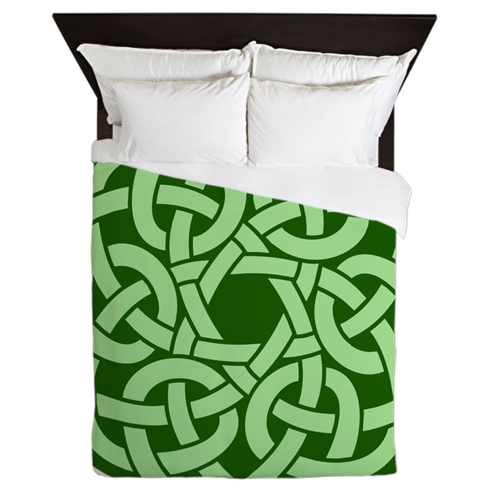 Queen Duvet Cover Celtic Knot Wreath by Royal Lion