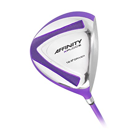 Affinity Women s Golf Xplode Driver 12.5, Ladies Flex, Right Hand, Purple