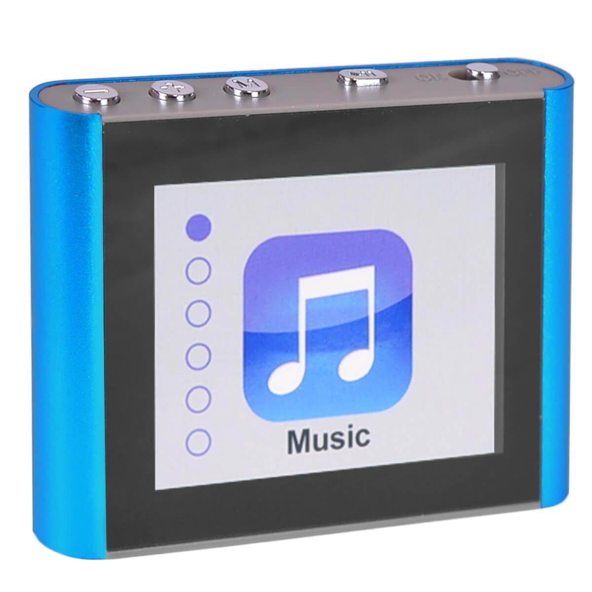 ECLIPSE Eclipse Fit Clip Plus BL 8GB 1.8 MP3 + Video Player (Blue)