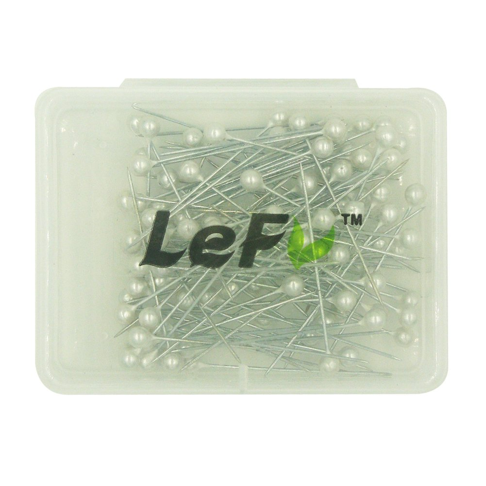 LEFV/™ Quilting Pins Ball Head Sewing Pins,Pack of 100,Blue