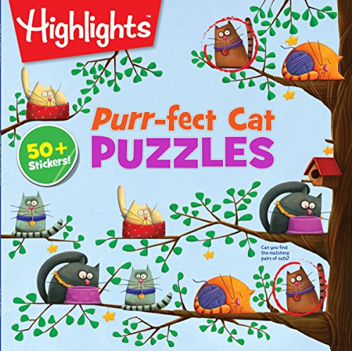 (Purr-fect Cat Puzzles (HighlightsTM Puzzle Activity Fun))