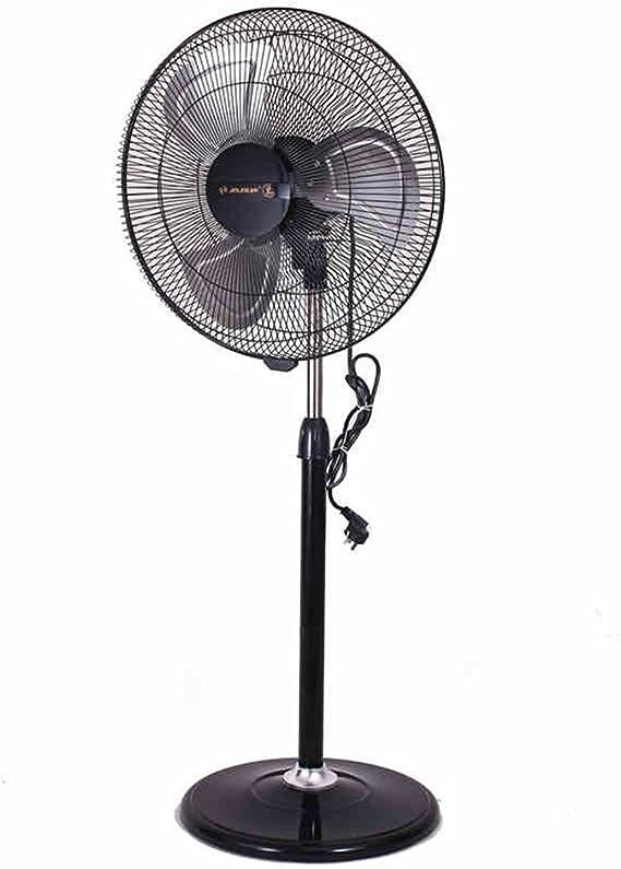 Ventilador eléctrico de Metal de 18 Pulgadas Ventilador Comercial de Suelo Ventilador eléctrico de pie de Gran tamaño con Volumen de Aire Ventilador eléctrico de Pedestal: Amazon.es: Hogar