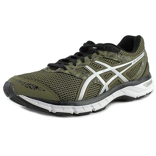 Asics Gel-Excite 4 Hombre US 9 Verde Zapatillas: Asics: Amazon.es: Zapatos y complementos
