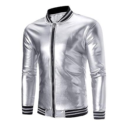 2018!!😊Men Zipper Shirt Warm Jacket Coat,Boys Vest Long Sleeve Top