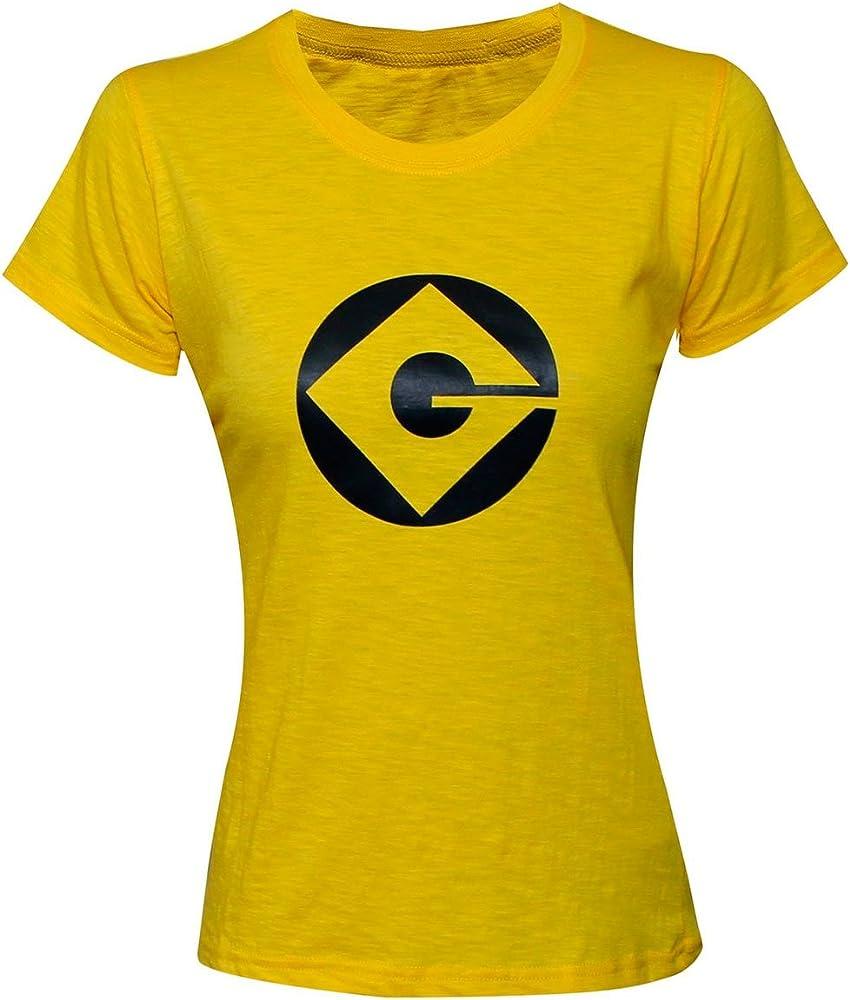 B&S Trendz Minion - Camisa para Mujer y Adulto, Color Amarillo ...