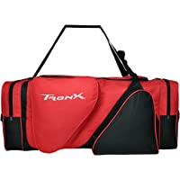 TronX Hockey Equipment Locker Bag (Black/Red)