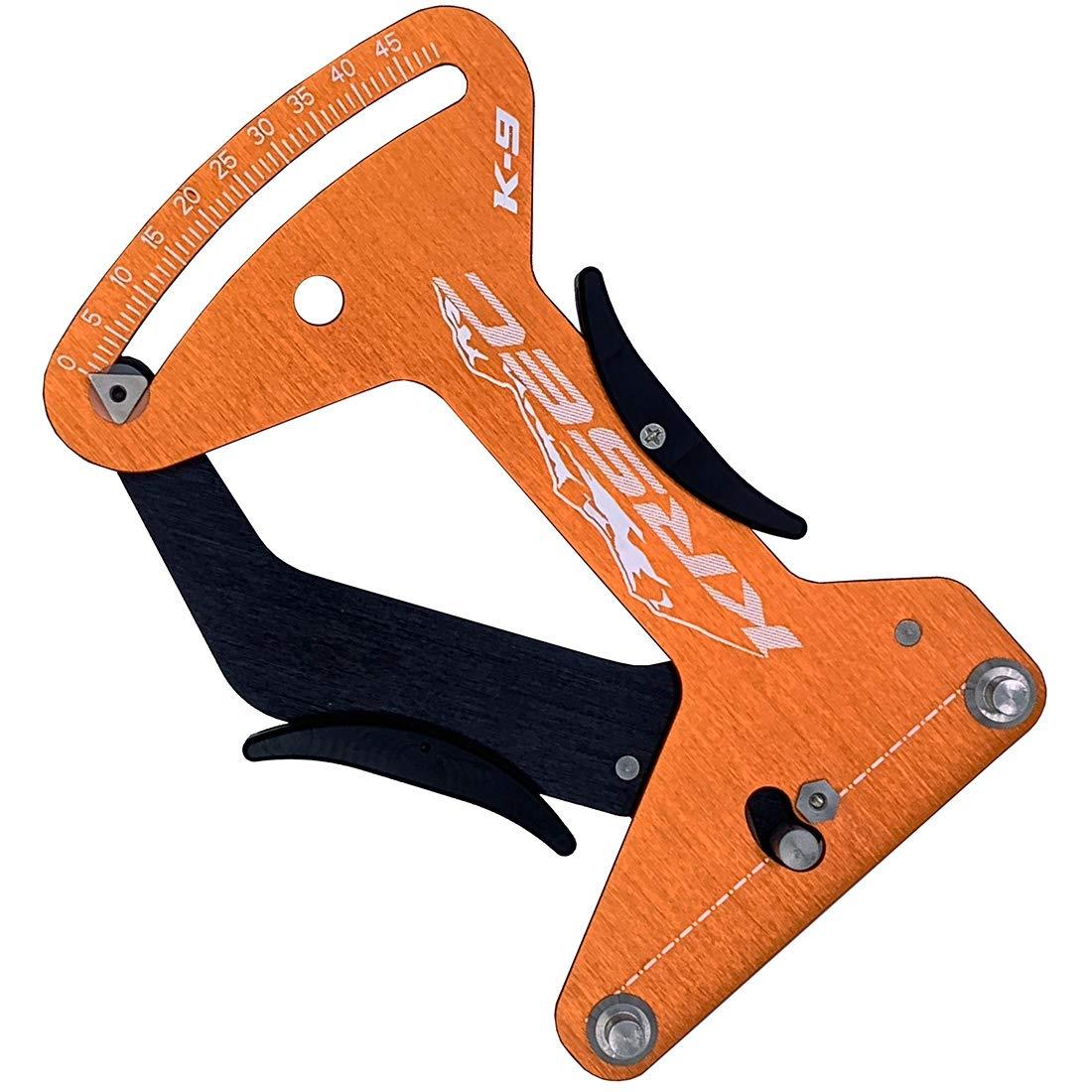 Feiyy Bicycle Spoke Tension Meter, Bike Cycling Wheels Meter Measurement Adjustment Tool (Z-Orange) by Feiyy