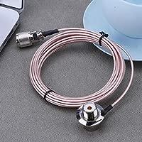 Asiright - Cable de alimentación coaxial de 5 m para antena ...