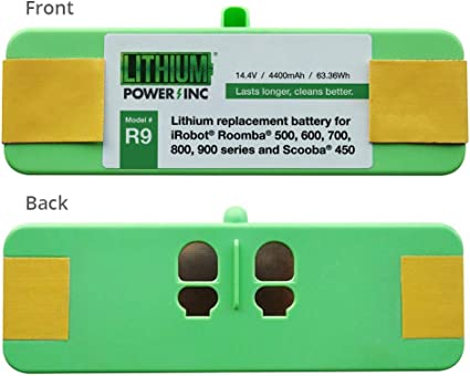 Lithium Roomba Replacement Battery For Irobot Roomba 980 960 895 890 860 695 690 680 675 640 614 900 800 700 600 500 Series And Scooba 450 4400mah Ul Ce Certified Battery Pack Vacuum And Dust Collector Accessories Amazon Com