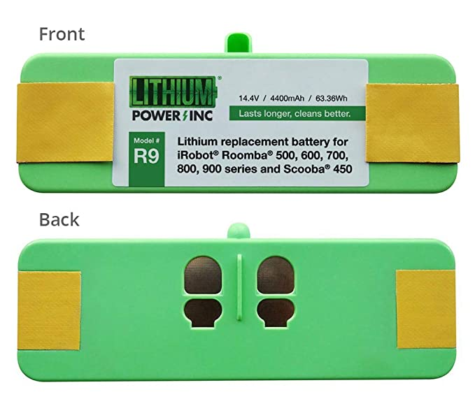 Lithium Roomba Replacement Battery