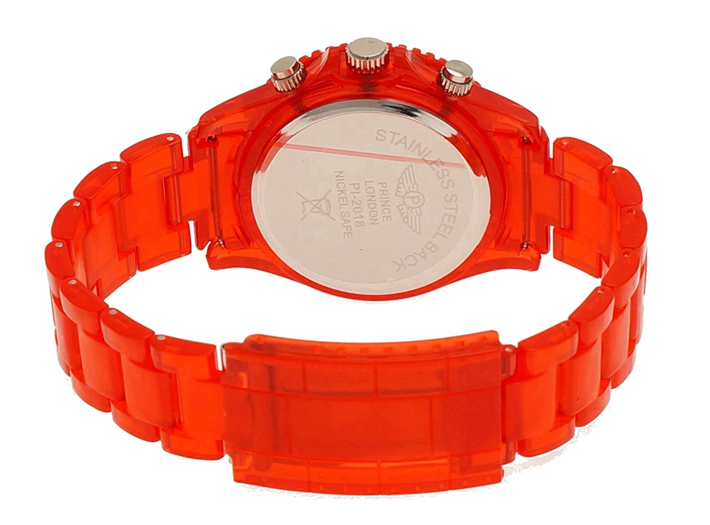 Amazon.com: NY London Retro Classic Unisex Testpage Closedown TV Screen Test Pattern Women Men Plastic Bracelet Watch Ladies Watch Mens Watch Wristwatch Red ...