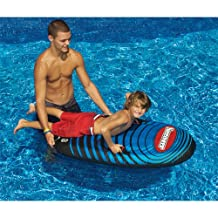 Speedster Body Board to Surf the Water or Sled for Snow Hills - Nylon Inflatable
