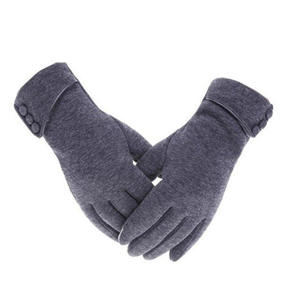 Yeshi Fashion Frauen Telefon Touch-Handschuhe Winter Warm Winddicht Outdoor Sport Handschuhe