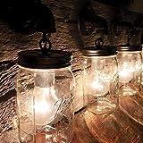 3 Mason Jar bathroom vanity wall light.