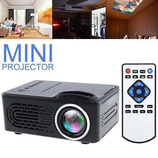 E-kinds Mini proyector de Entretenimiento Micro, 1080P HD ...