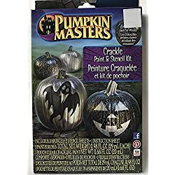 Pumpkin Masters Crackle Paint and Stencil Kit