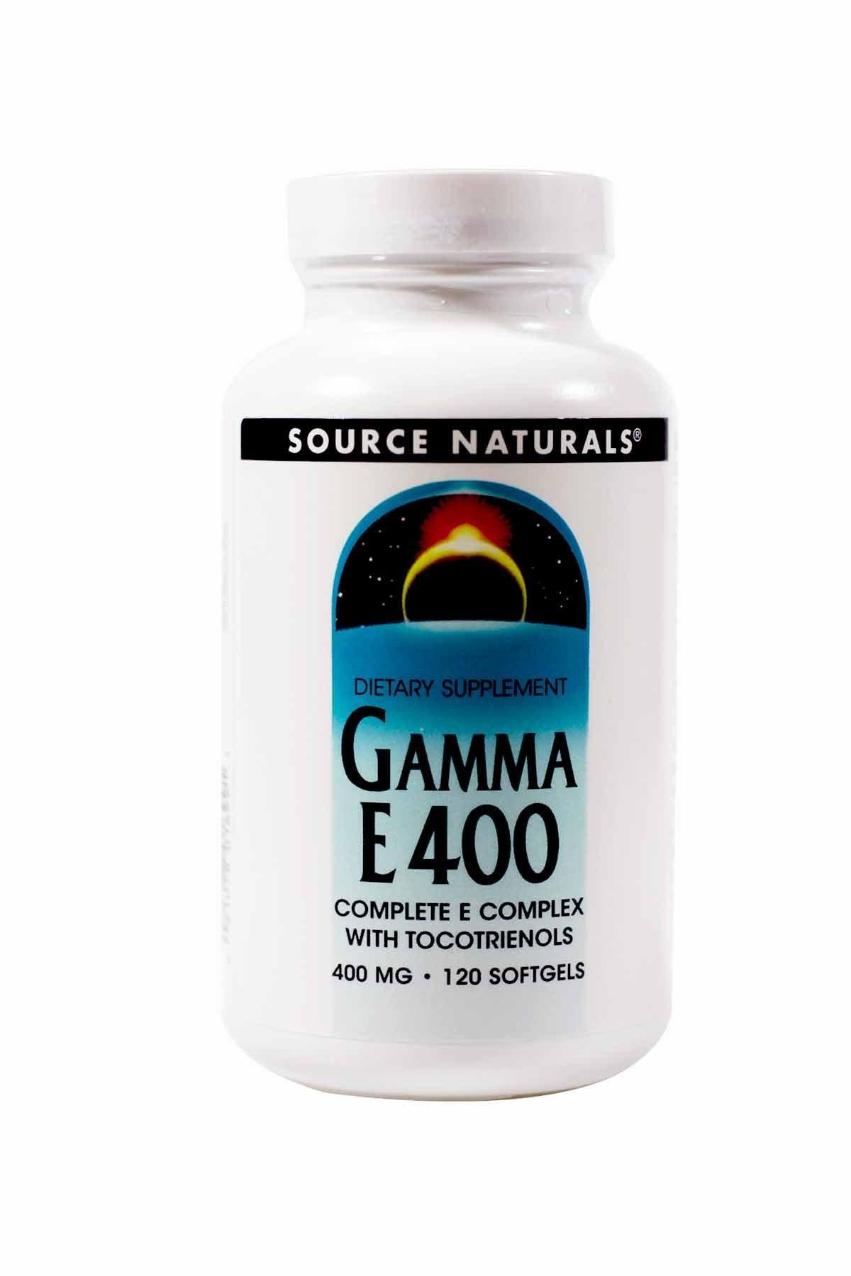 SOURCE NATURALS Gamma E Complex 400 Mg Soft Gel, 120 Count by Source Naturals