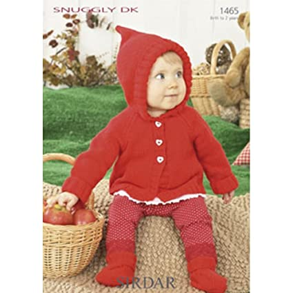 Sirdar Knitting Pattern 1465 A-Line coat with Pixie Hood  Amazon.co.uk   Kitchen   Home feccb94ba6a