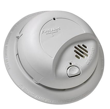 Amazoncom First Alert BRK 9120B Hardwired Smoke Alarm with Battery