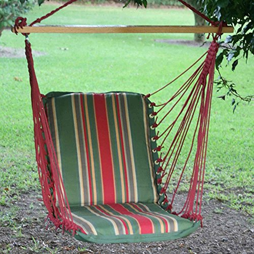 Pawleys Island Hammocks Single Cushioned Swing – Garden