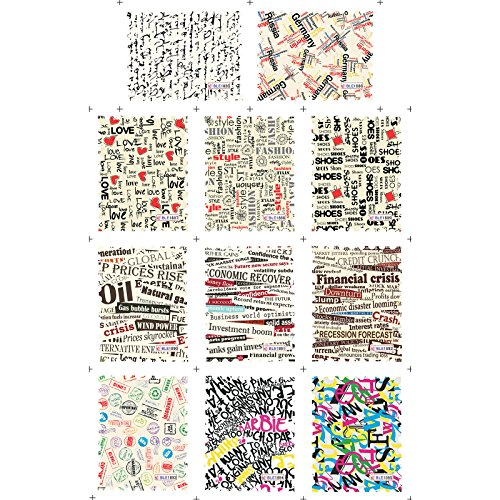 Water Stickers 11 designs/sheet DIY Beauty Nail Art Decorations Tools#3