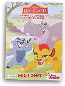 Bendon Publishing International The Lion Guard Wild Ones! Coloring and Activity Book - 96 Pages