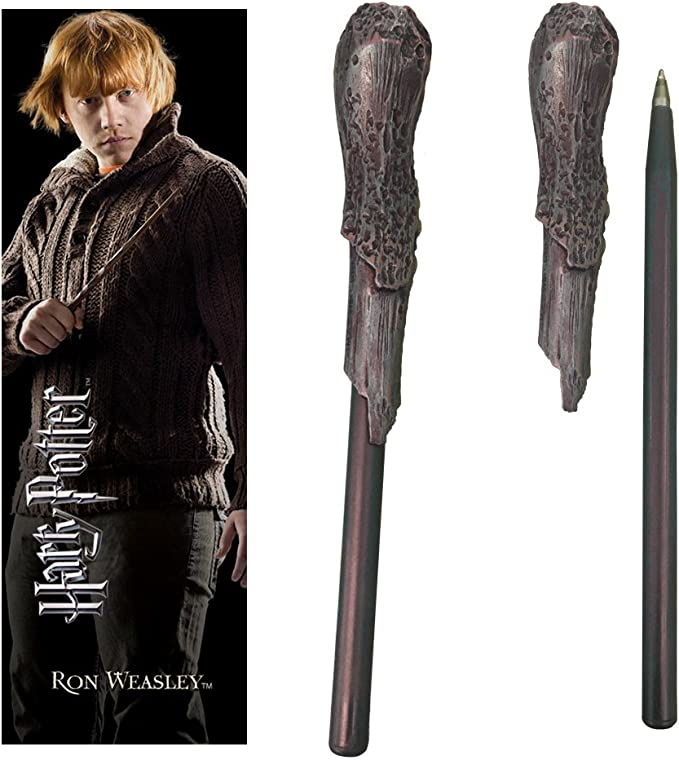 The Noble Collection Ron Weasley Wand Pen y Marcador