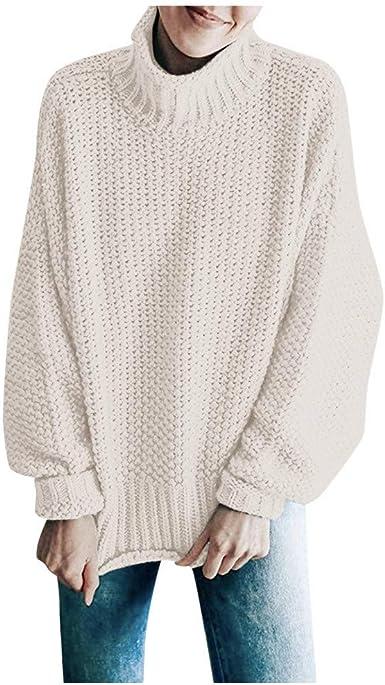 Da Uomo scollo tondo lavorato a maglia Smart Casual Pullover Maglione Top Caldo Inverno