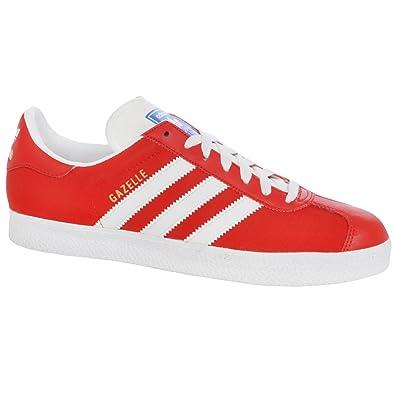 separation shoes 672e4 db894 adidas Originals Mens Gazelle 2 Trainers - Red Amazon.co.uk Shoes  Bags