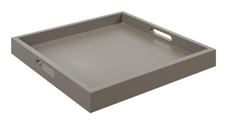 amazoncom convenience concepts palm beach serving tray gray  - amazoncom convenience concepts palm beach serving tray gray home kitchen