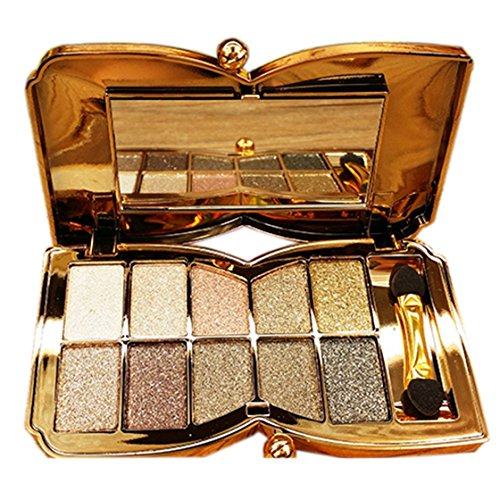 Eye Shadow - TOOGOO(R)Diamond Bright Colorful Makeup Eye Shadow Super Make Up Set Flash Glitter Eyeshadow Palette With Brush(5#) SODIAL(R) SPAGT46998