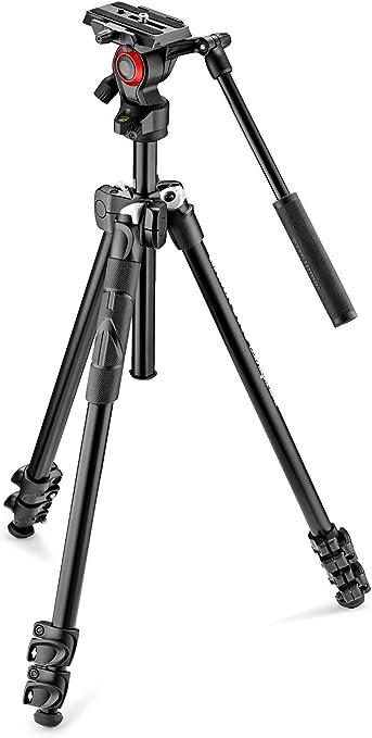 Manfrotto Mk290lta3 V Kit 290 Leichtes Stativ Mit Kamera