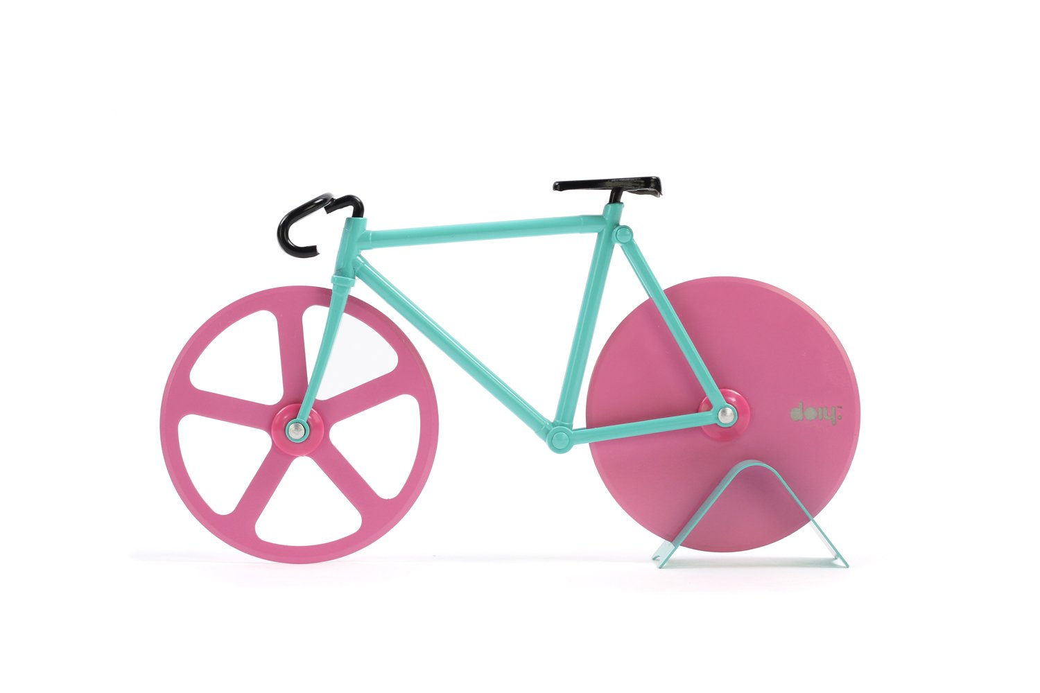 Amazon.com: Pizza Cutter - Bicycle Pizza Cutter: Blue & Pink ...