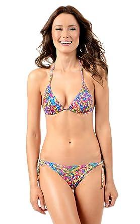 a1f77696b18c1 Amazon.com  Voda Swim Women s Envy Push up String Bikini Top  Clothing