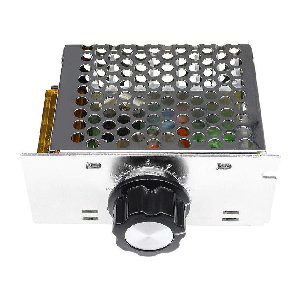Cdrox 4000W 220V AC SCR Modulo regolatore di velocit/à del motore per regolatore di tensione elettronico