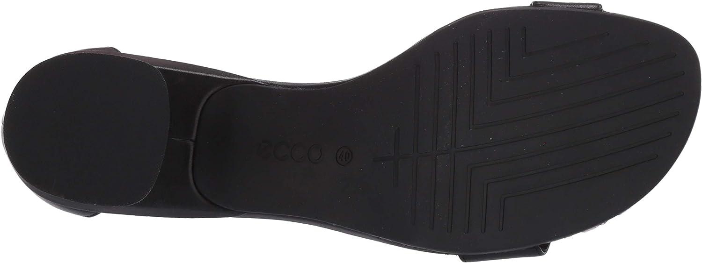 ECCO Womens Elevate 45 Block Sandal Heeled Sandal