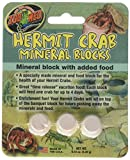 (4 Pack) Zoo Med Laboratories Zoo Hermit Crab Mineral Blocks