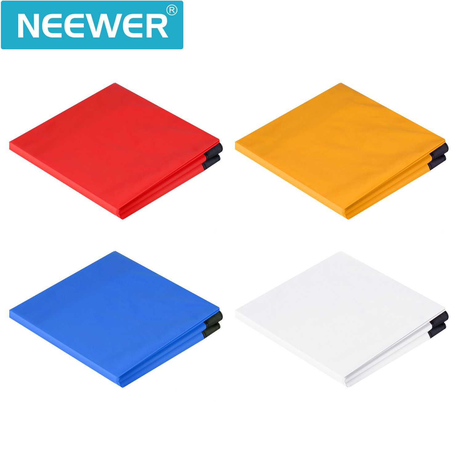 Yellow Softbox NOT Included Neewer Photography Softbox Diffuser 25x25 inches//64x64 centimeters with 4 Color Red Blue White